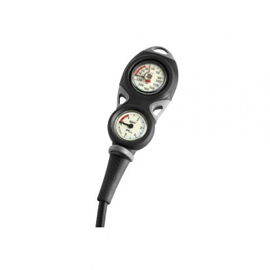 Mares Mission 2 Gauge Console, Metric (BAR)