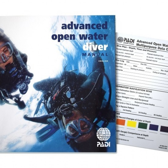 Advanced Open Water Manual with Data Carrier