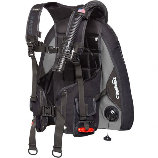 Zeagle Covert BCD with inflator