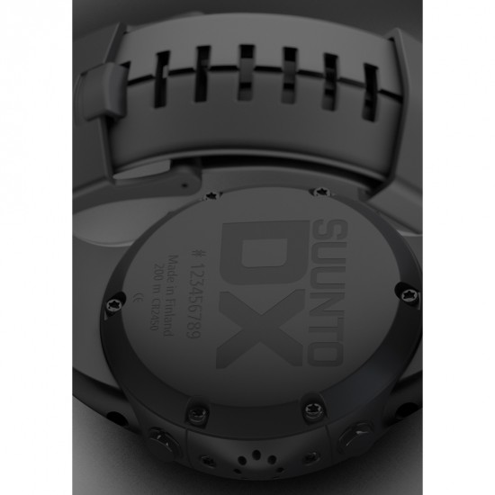 Suunto DX Rubber Strap Wrist Computer with USB
